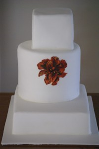 modern wedding cake 200x300 Ultra Modern wedding cakes