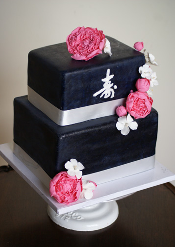 Life cake Life like Sugar Peonies