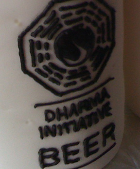 dharma beer 2 LOST: Cakes for a Fond Farewell