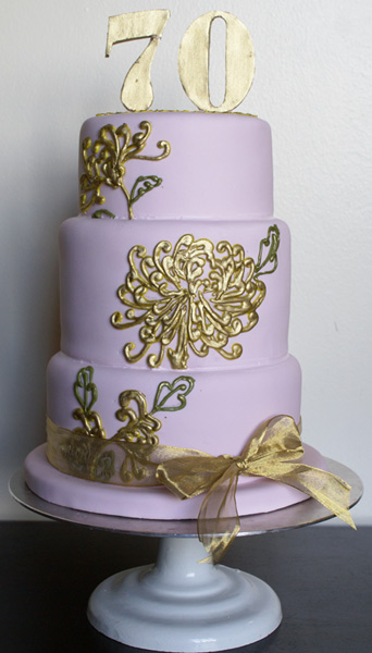 golden flower cake 22 Golden Flower Cake Part 2!