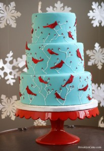 winter cake 206x300 These are a Few of My Favorite things