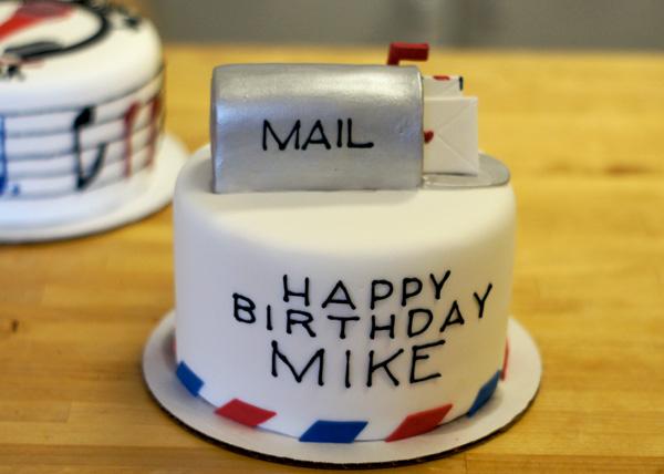 Mailbox cake Mailbox Cake