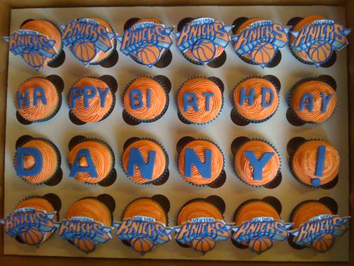 knicks cupcakes NY Knicks cupcakes