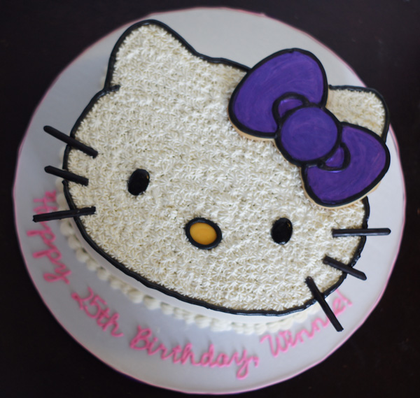 Hello Kitty Face Hello Kitty Face cake