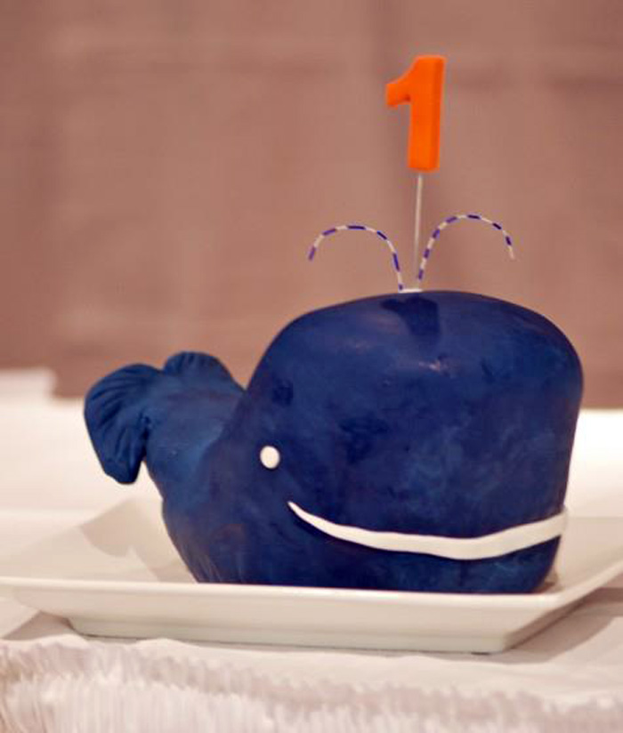 Whale Cake Whale of a time Dessert Table