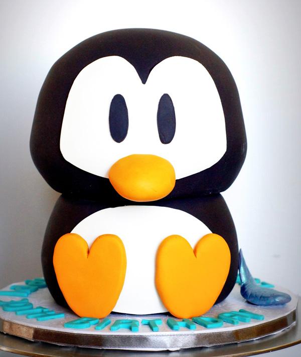 Penguin cake Penguin Cake
