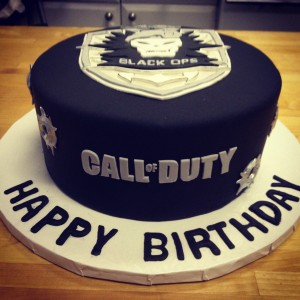 IMG 0637 300x300 Call of Duty Cake