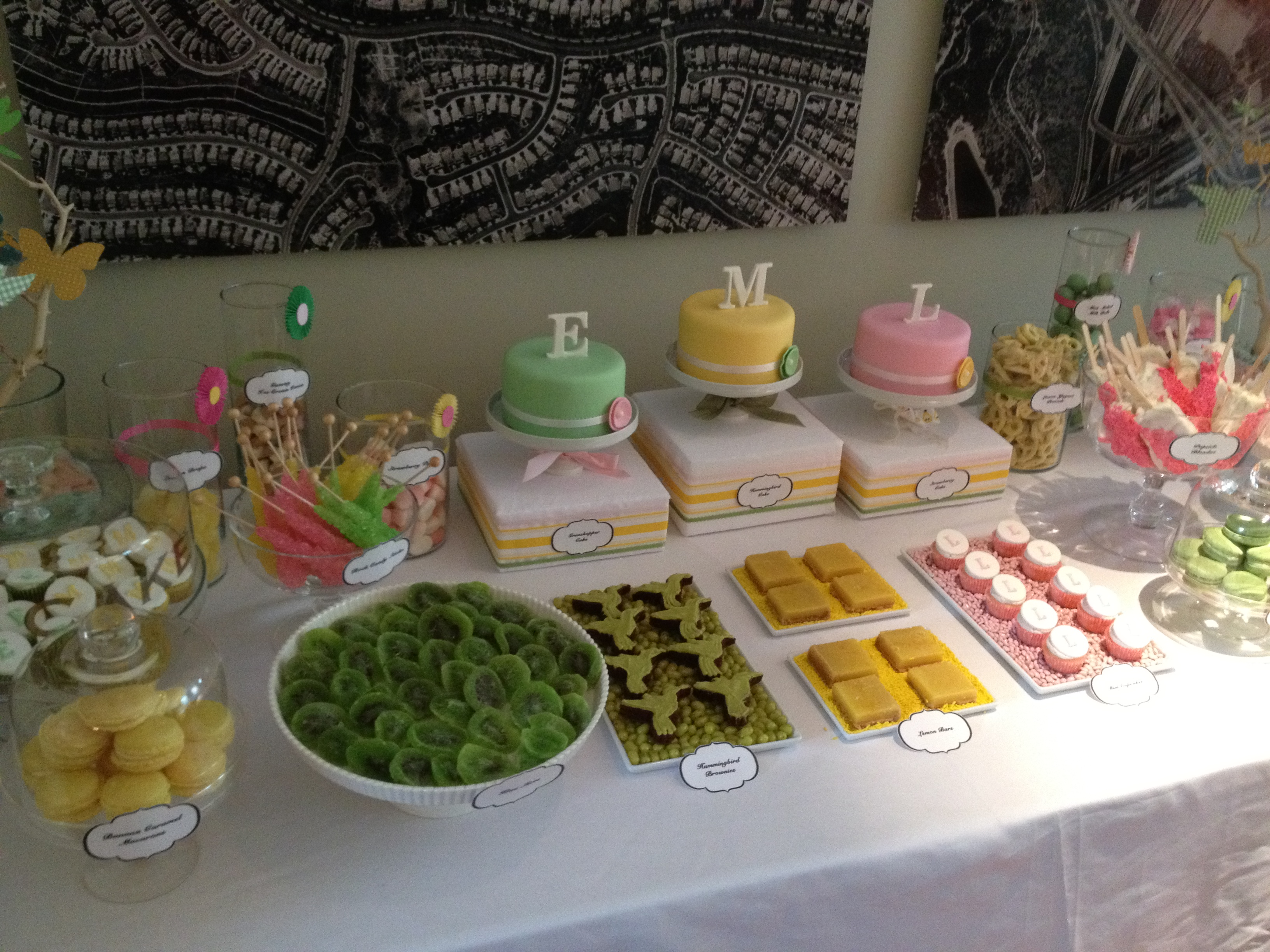 dessert table 5 Girly Dessert Table